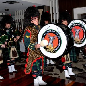 pipe band inside